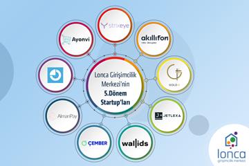 Lonca Girişimcilik Merkezi 5. Dönemine 9 Startup ile Başladı