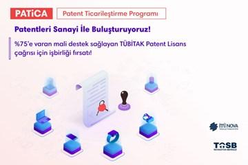 Patentleri Sanayi İle Buluşturan PATİCA Programı Başladı!