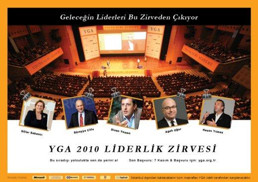 Geleceğin Liderleri YGA 2010 Liderlik Zirvesinde Buluşuyor