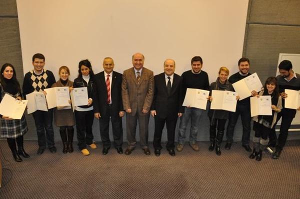 Genç Girişimci Geliştirme Programı Sertifika Töreni
