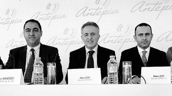 Sinpaş-Naksan'dan Gaziantep'e 1.2 Milyar Dolarlık Yeni Şehir