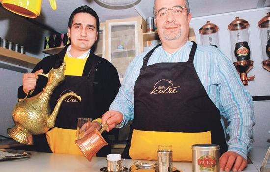 Aromalı Türk Kahvesiyle Starbucks'a Rakip Oluyorlar