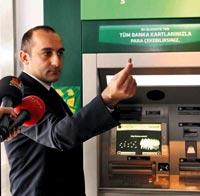 İlk altın ATM'si Kuveyt Türk'ten