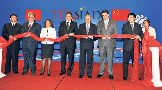 Çin'de İlk Resmi Türk İşadamları Derneği Açıldı