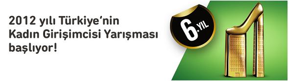 Türkiye'nin 2012 Kadın Girişimci Yarışması Başlıyor!