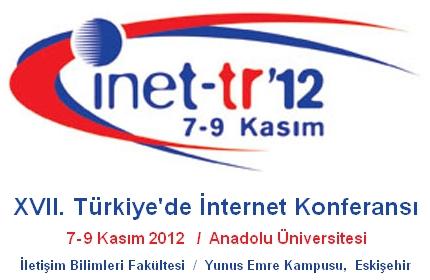 XVII. Türkiye'de İnternet Konferansı, 7-9 Kasım'da Eskişehir'de!