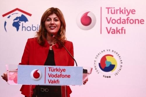 Vodafone'dan İstanbul'a Uluslararası Girişimcilik Merkezi!