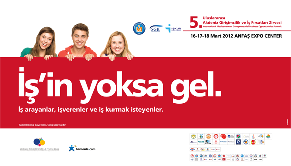 5. Akdeniz Uluslararası Girişimcilik ve İş Fırsatları Fuarı Başlıyor !