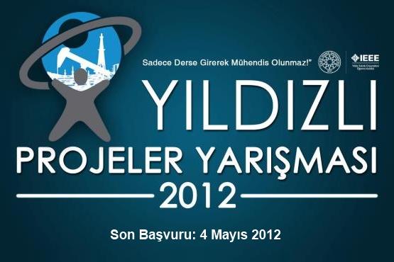 Girişimci Öğrenciler, 2012 Yıldızlı Projeler Yarışmasını Kaçırmayın!