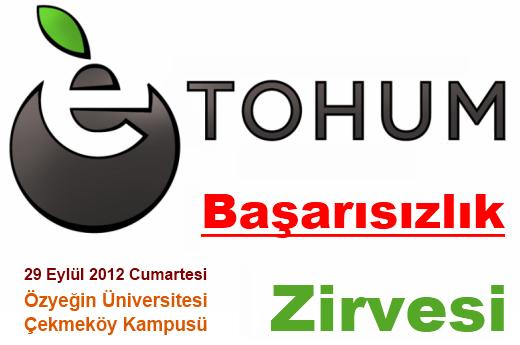 Etohum ve ÖzÜ, 29 Eylül'de Başarısızlık Zirvesi Düzenliyor!