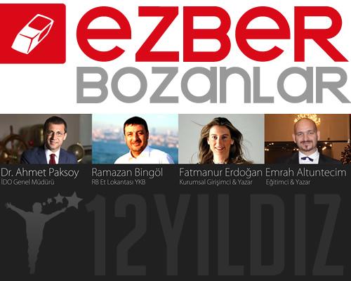12 Yıldız, Türkiye'nin #EZBERBOZANLAR'ını Dünya İle Buluşturuyor!