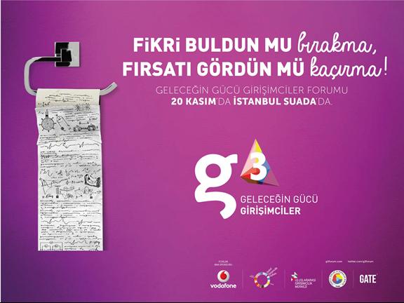 2013 yılı g3 Girişimciler Forumu 20 Kasım'da Suada'da!
