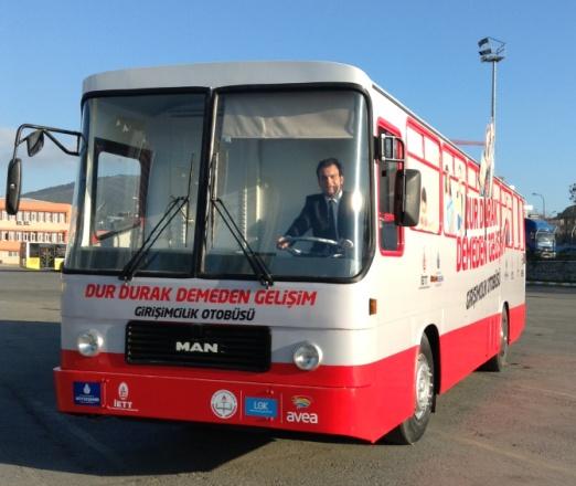 Samed Ağırbaş, İETT Girişimcilik Otobüsünü Girişim Haber'e Anlattı!