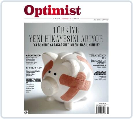 Girişim, İnovasyon ve Yönetim Dergisi Optimist'in 11. Sayısı Çıktı!