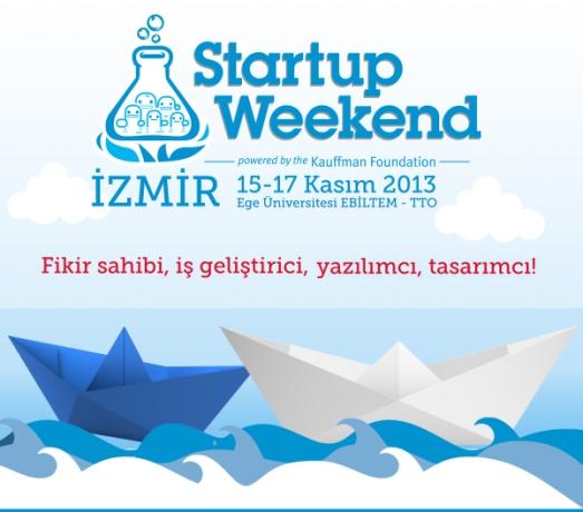 Startup Weekend İzmir, 15-17 Kasım'da Ege Üniversitesi'nde!