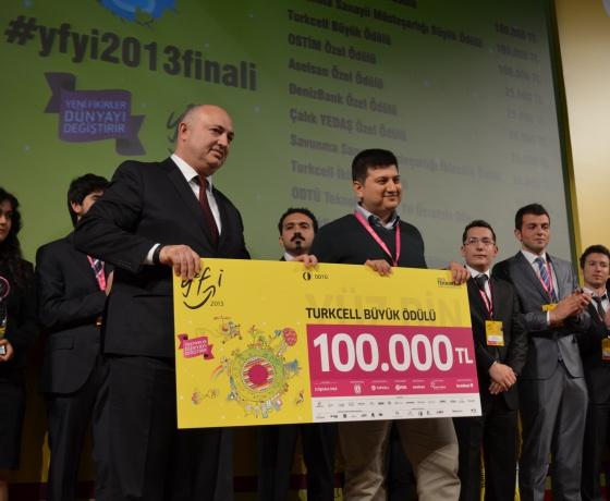 Yeni Fikirler Yeni İşler Yarışmasının 2013 Kazananları Belli Oldu!