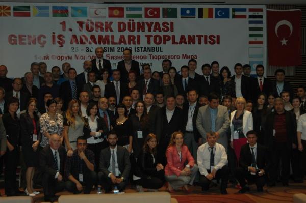 1. Türk Dünyası Genç İşadamları Toplantısı İstanbul'da Yapıldı