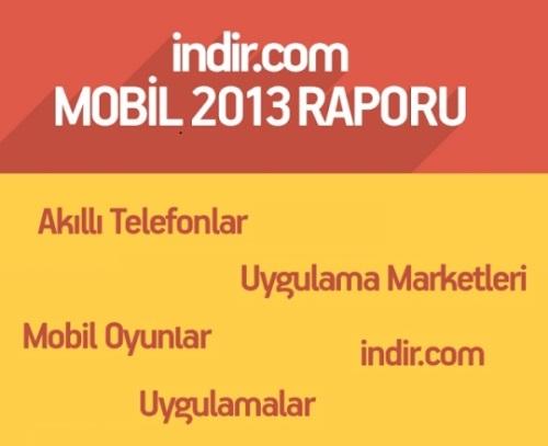 indir.com, Mobil 2013 Raporunu Yayınladı! [İnfografik]