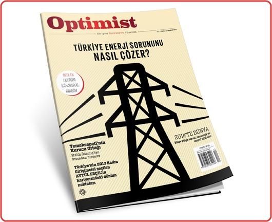 Girişim, İnovasyon ve Yönetim Dergisi Optimist'in Aralık Sayısı Çıktı