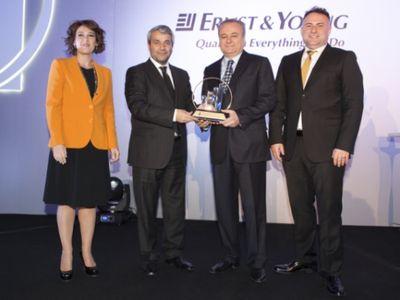 EY'nin Yılın Girişimcisi Ödülü Dr. Şükrü Bozluolçay'ın!