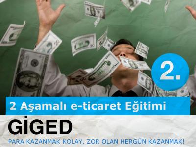 Girişimciler, GİGED e-Ticaret Eğitimi'nin 2. Aşaması Yarın!