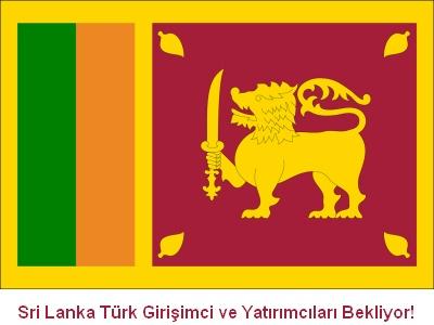 Sri Lanka Türk Girişimci ve Yatırımcıları Bekliyor!