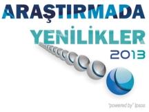 Araştırmada Yenilikler 2013 Konferansı 15 Mayıs'ta İstanbul'da!