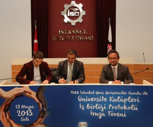 TOBB İstanbul GGK, Üniversiteler İle Girişimcilik Protokolü İmzaladı!
