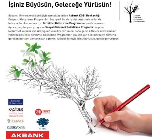 Akbank Girişimci Geliştirme Programı 2013 Başvuruları Başlıyor!