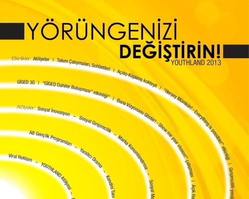Gençler, GİGED'in YOUTHLAND Projesiyle Yörüngenizi Değiştirin!
