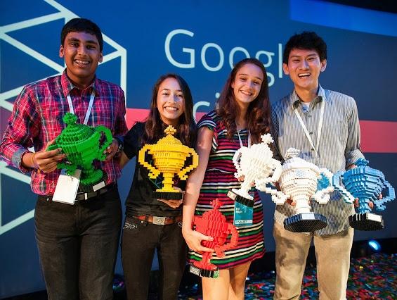 Elif Bilgin, Google Bilim Fuarında İlk 4 Finalistten Birisi Oldu!