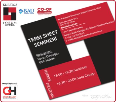 Keiretsu Forum İstanbul Girişimcilerle 5. Buluşmasını Gerçekleştiriyor!