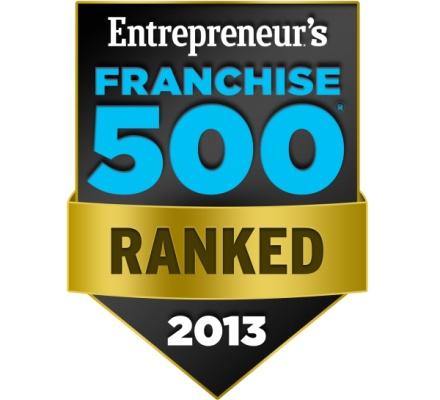 2013 Yılının En İyi Global 500 Franchise Şirketi Açıklandı!