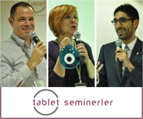 Kesenize Uygun Yenilikçi Seminerler İçin: Tablet Seminerler!