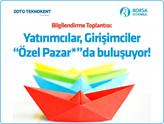 Özel Pazar Bilgilendirme Etkinliği 4 Kasım'da ODTÜ Teknokent'te!