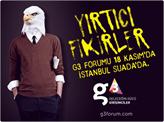 Geleceğin Gücü Girişimciler (G3) Forumu 18 Kasım'da İstanbul'da!