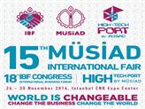 15. MÜSİAD Uluslararası Fuarı 26 Kasım'da İstanbul'da Başlıyor!