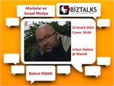Gelecex BizTalks Buluşmaları 2014 Aralık Konuğu Bülent Fidan Olacak!