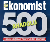 Anadolu 500 İle Anadolu'nun En Büyük Firmaları Ödüllendirildi!