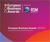 TurkNet Avrupa İş Ödülleri'nde (European Business Awards) Finalde!