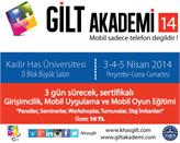 GİLT Akademi'14 Bu Hafta Kadis Has Üniversitesi'nde!