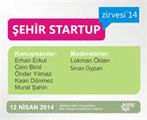 Genç Girişimciler, 2014 ŞEHİR STARTUP Zirvesi 12 Nisan'da!