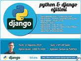 BTOS'tan İnternet Girişimcileri İçin Temel Python Django Eğitimi!