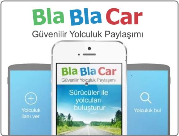 Şehirlerarası Yolculuk Paylaşım Ağı BlaBlaCar Türkiye'de!