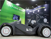ABD'li Firma, Dünyanın İlk 3D Otomobilini Fuarda Üretti!