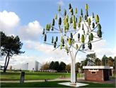 Fransa'da Elektrik Üreten Ağaç Geliştirildi: Wind Tree!