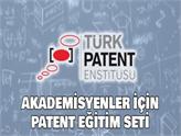 Türk Patent Enstitüsü'nden Üniversitelere Patent Eğitim Seti!