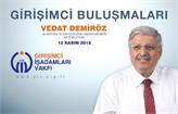 GİV Girişimci Buluşmaları'nın 2015 Kasım Konuğu: Vedat Demiröz!
