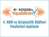 4. KOBİ ve Girişimcilik Ödülleri Yarışmasının Finalistleri Açıklandı!