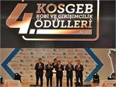 KOSGEB 4. KOBİ ve Girişimcilik Ödülleri Sahiplerini Buldu!